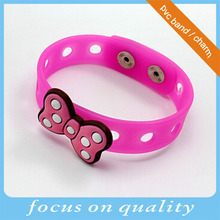 high quality micro injection convex creative 3d vinyl rubber bespoken pvc bracelet 2d shoe charm