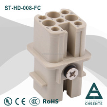 Heavy duty industrial connector 25 10 16 pin male and female connector automotive electrical terminal