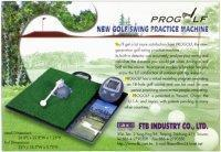 Patented Golf Swing Practice Devices, Golf Putting Devices