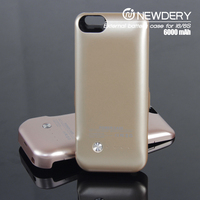 2016 Hot selling product slim battery case for iphone 6 portable power case for iphone 6s backup battery case for blackberry q10