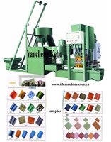 clay roof tile making machine KB-125C