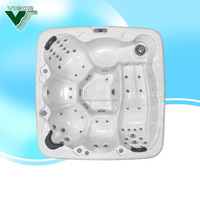 Christmas discount outdoor sex hot tub massage spa,PVC frame swimming pool,adult massage spa