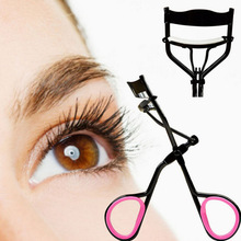 Women Lady Wonderful Pro Handle Eye Lashes Curling False Eyelashes Curlers Clip Beauty Makeup Tool