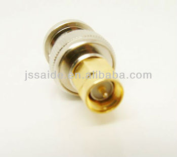 SMA plug to BNC plug adapter coaxial RF connector
