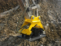 Construction attachnents high quality excavator plate compactor