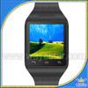 low cost watch mobile phone 1.54inch phone watch without camera