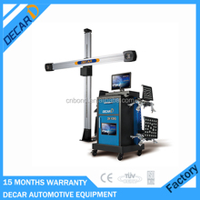 Double display 3D used computer wheel alignment for sale