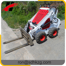 2017 brand new mini digger mini skid steer loader best price in China