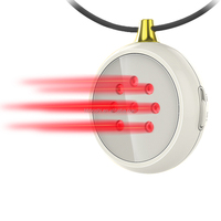 light healing medical laser therapy laser health solution silicone necklace