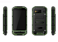 Factory 4 inch MTK 6572 dual core mobiel phone Rugged Android 3G phone Industrial / Military GPS-navigation phone