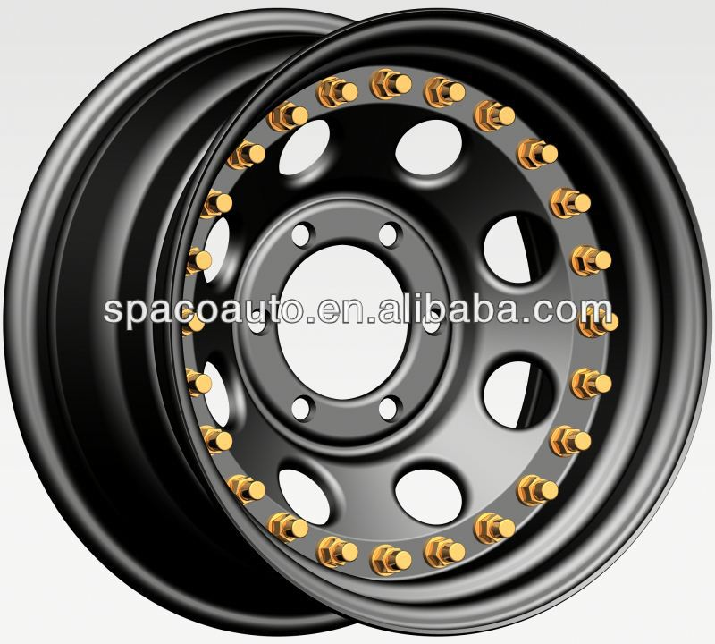"4x4 3 pcs 15"" wheels 4x100 double side beadlock"