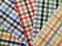 100% cotton yarn dyed twill fabric for shirt