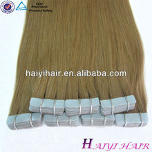 Factory Wholesale Price!!!Most Popular Cheap Top Quality Hair Extensions Tape Method