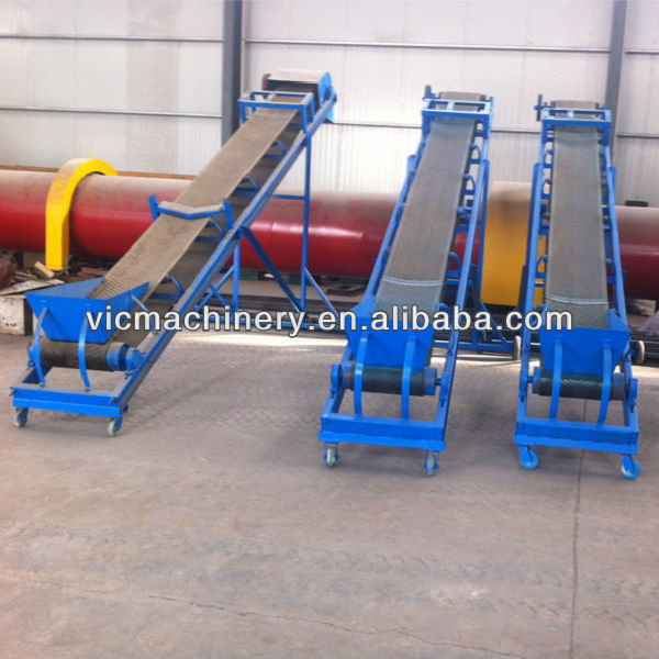 5m Belt Conveyor for dryer, making line and other equipments save the manpower