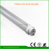 Energy saving 1200mm 22w t8 led fluorescent tube