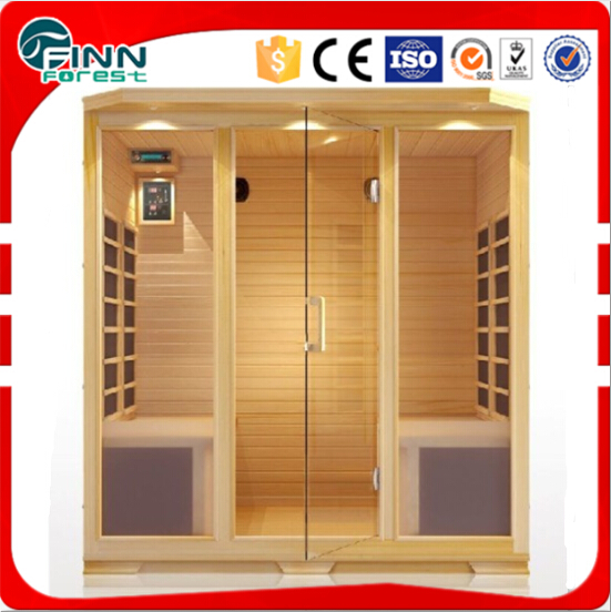 3-4 people Capacity and Sauna Rooms Type dry steam sauna room