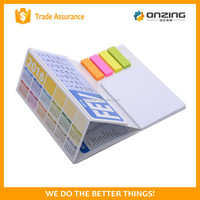 Popular type calendar memo pad sticky note desk calendar