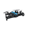 safety design 2.4G 4CH 6axis gyro drones flying car for fun