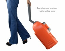 portable outdoor pressure washer a combined solution to solve water tank, and battery powered led lights