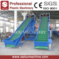 pet bottle flakes washing recycling crushing plant
