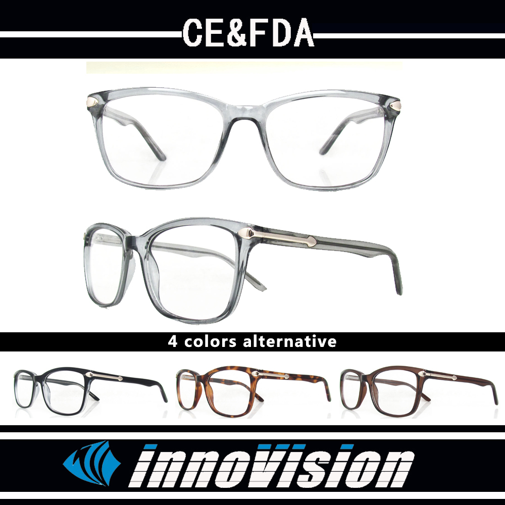 High quality popular fashion design optical frames CP injection reading glasses