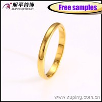 Xuping Fashion 24K gold color o ring Jewelry 12695