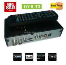 Hot model dvb-t2 set top box tv built-in satellite receiver for russia