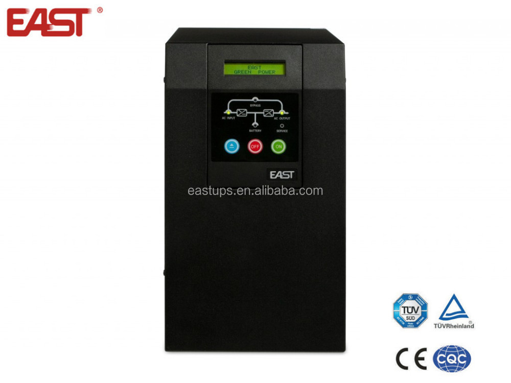 High Frequency Online UPS backup/power supply system capacity range from 1KVA to 10KVA with 0.9