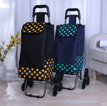 Folding shopping Luggage Bag Cart, Portable vegetable Shopping Trolley Bag with wheels