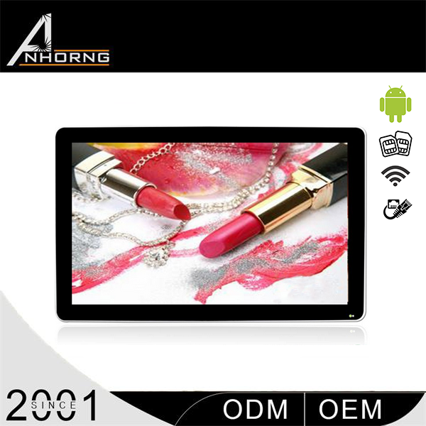 hot sale 40 inch led tv advertising player screen for advertising with high definition