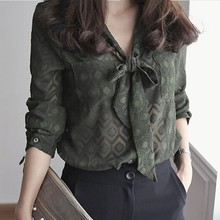 China Supplier Ladies New Neck Design Office Style Women Blouse Of Names