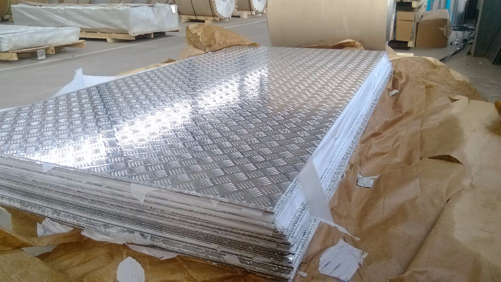 5 bars aluminum checker sheet plate 1050 1060 1100 1200 O H24