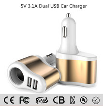 Mini Car Charger Adapter / Cigar Socket 12v car battery charger Micro Auto Universal Dual 2 Port USB Car Charger