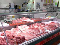 Green&Health meat display fridge refrigerator butchery shop equipment