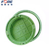 Waterproof Fiber Plastic Composite FRP Manhole Cover For Sale, GRP Fiberglass SMC BMC Round Square Trench/Ditch/Gutter Cover