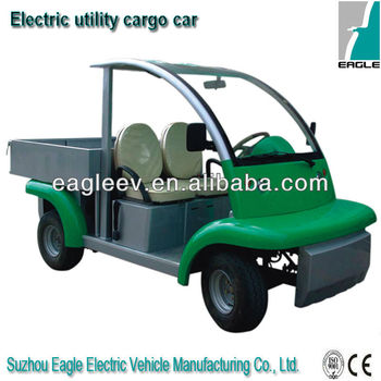 Electric cargo vehicle, CE approved