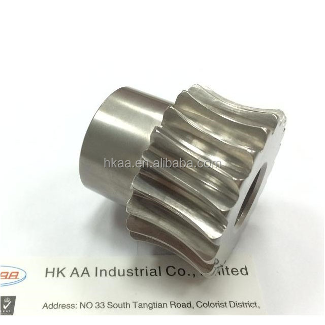 Precision 5 axis CNC Steel Spline Shaft Coupling With Keyway
