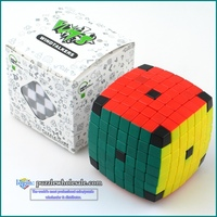 Wholesale Lanlan 7x7x7 Puzzle Cube Magic Stickerless 7x7 Speed Cube Plastic Educational Toys