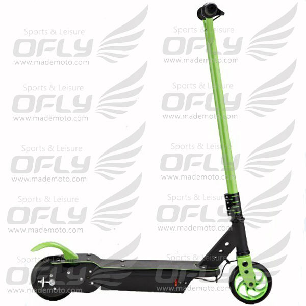 popular 120W CE approved 2 wheel kids folding electric scooter for sale