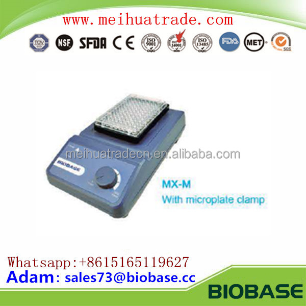 Chinese BIOBASE Lab/Medical Equipment Microplate Mixer with cheap price