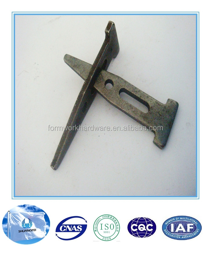 concrete aluminum formwork long/short/standard wedge pin, wedge bolt