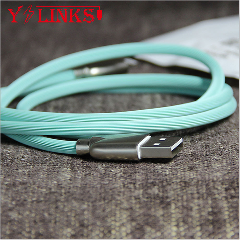 Original USB charger cable 도매 자료 (msds) Sync Charging 대 한 iphone5 대 한 ipad iphone 6/7 Cable