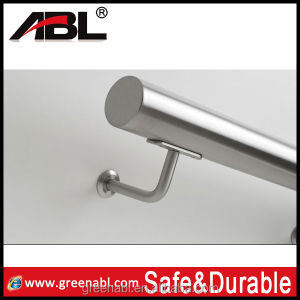 Decorative handrail fitting stainless steel stair handrail hospital handrail