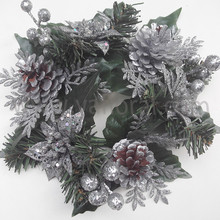 Famous yiwu christmas decoration tree wreath sale with high quality