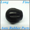 Black Silicone Molded Auto Gear Knob