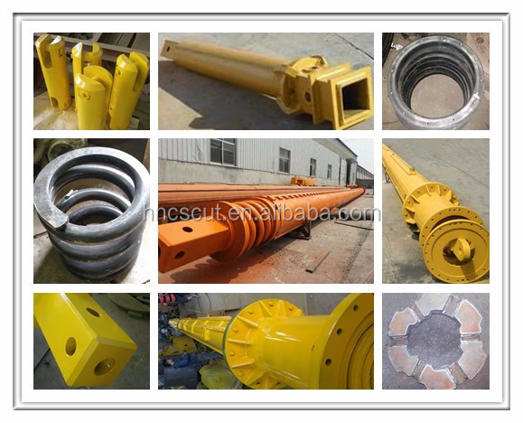Steel Wire Rope Used Pulleys And Winches, Pulley For Winch Used For Support Steel Wire Rope, Rotary Drilling Rig Pulley Winch