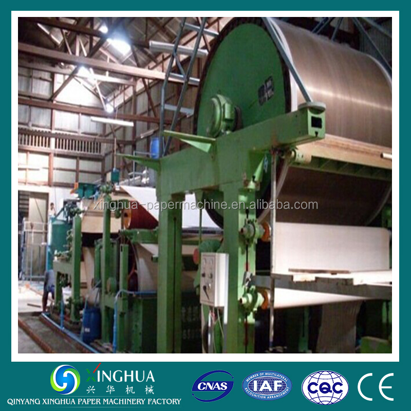 5 T/D 1575mm Financial Analysis of Pulp and Waste Paper Recycle Paper Machine