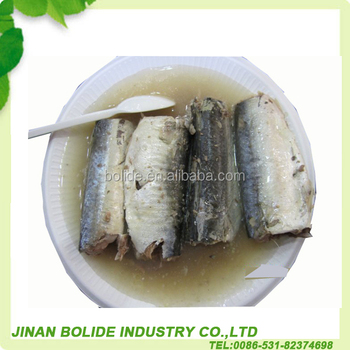 canned sardine product