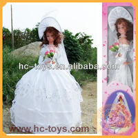 Hot-sale Porcelain Decoration Umbrella Doll, Girl Toys