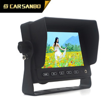 TS513 factory 5 inch TFT LCD Car Monitor for Truck/Trailer/Bus